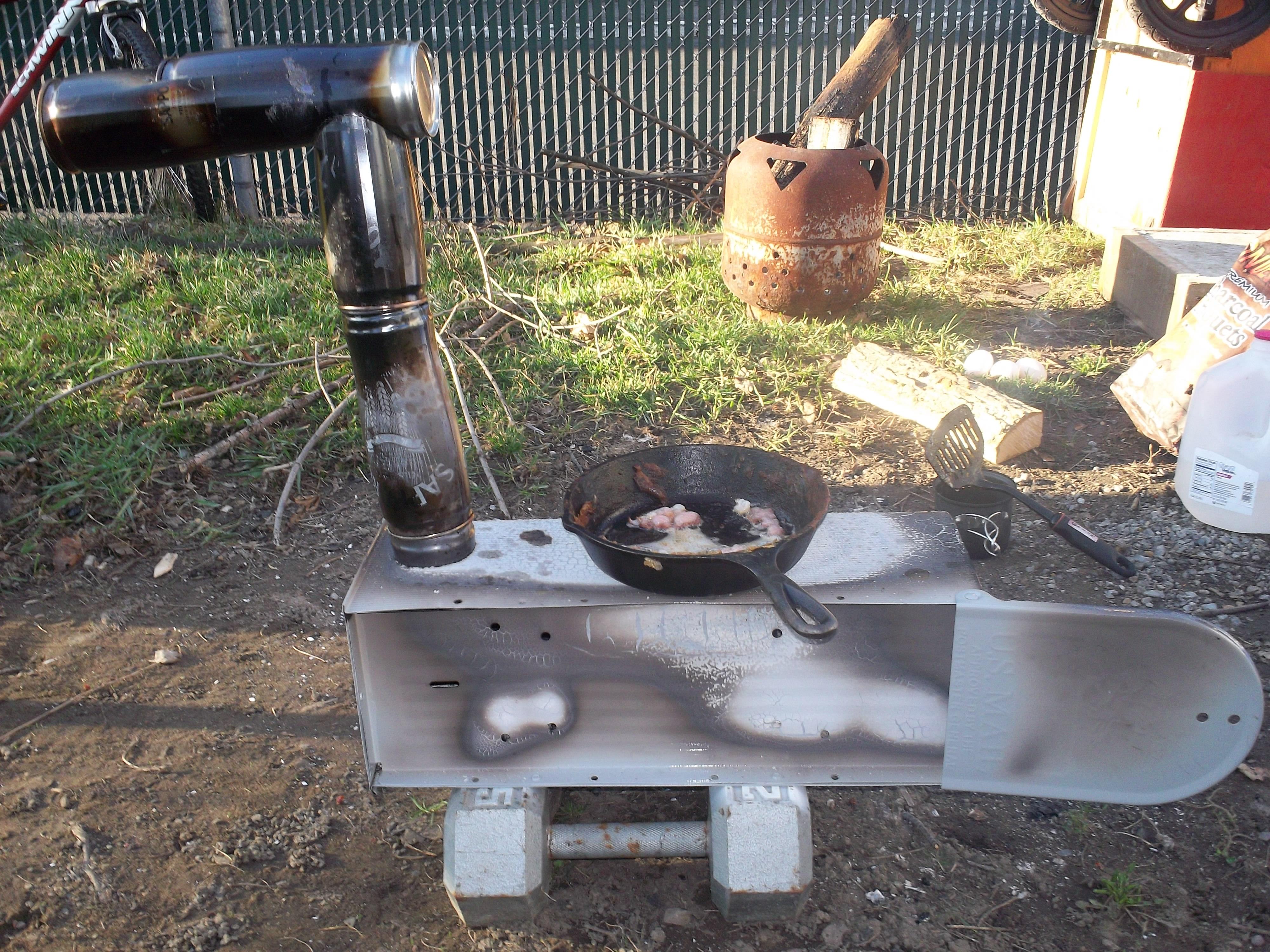 diy wood stove | nagginginspiration
