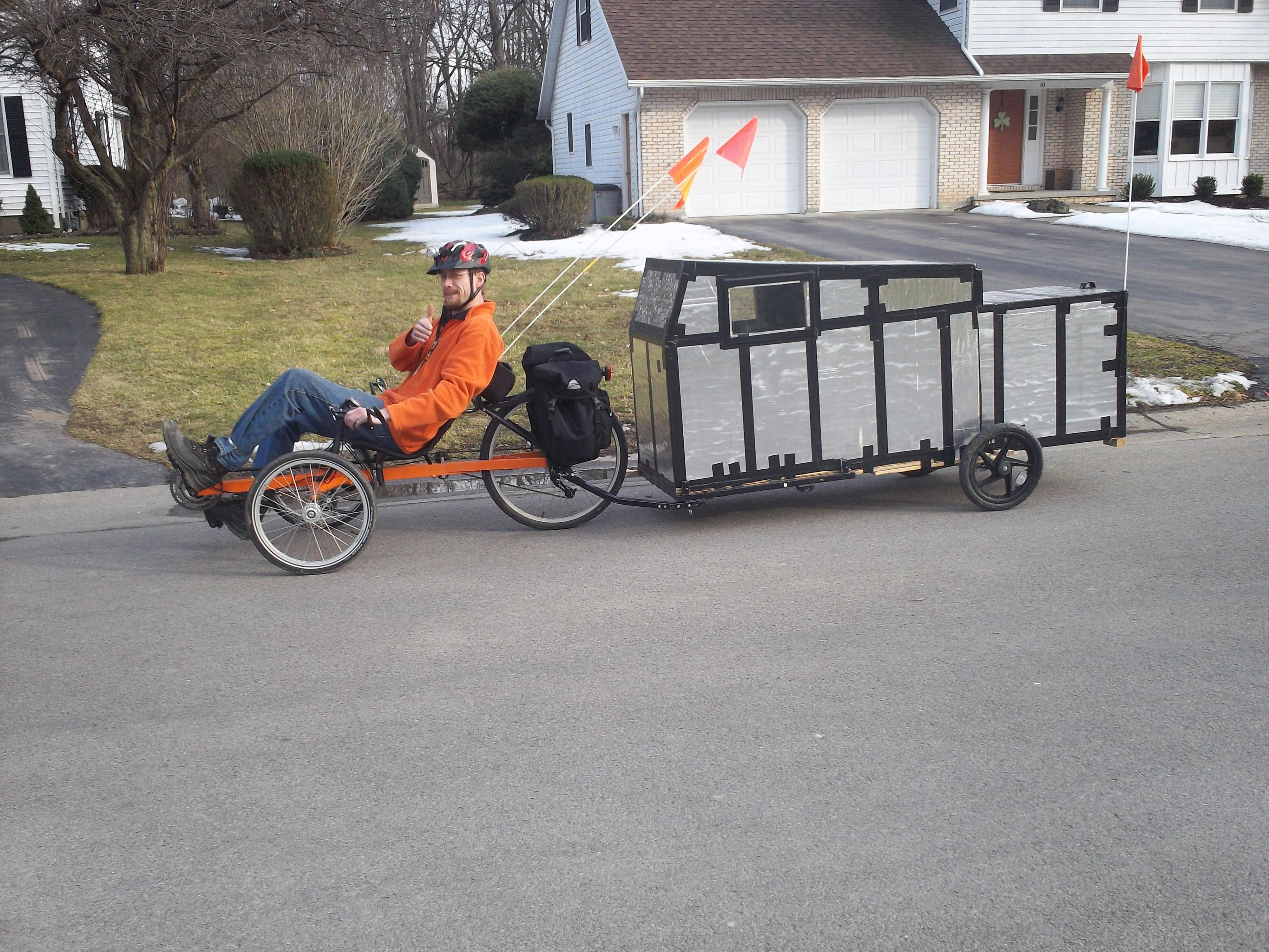 Bike Campers Bicycle Camper Nagginginspiration